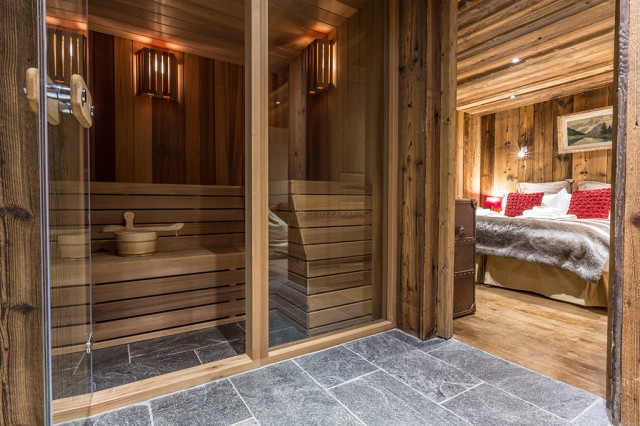 Chalet Baby Bear - Sauna / Bedroom 3