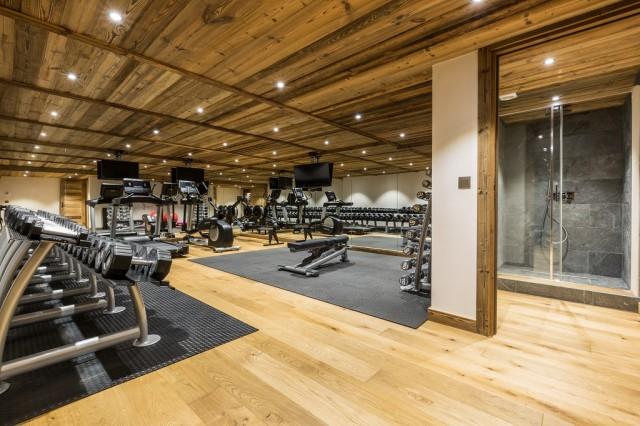 Luxury Chalet Chamonix - Chalet Baloo - Gym