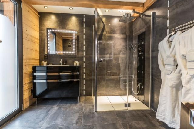 Chalet Couttet   Penguin Bathroom