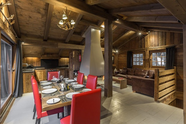 Chalet Baby Bear - Living and Dining
