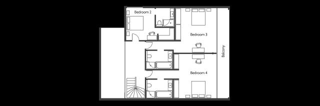 Villa Frankie 1er étage