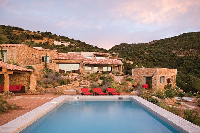 Corporate retreats in Corsica, Villa Luna
