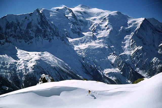 Ski areas in Chamonix Mont-Blanc