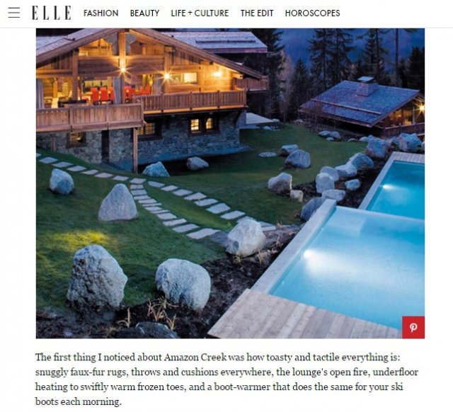 Amazon Creek features in 'Elle' magazine