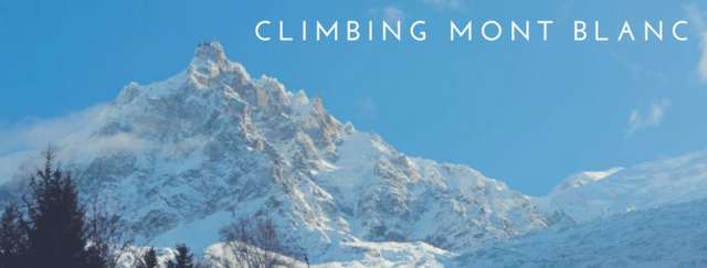The Mont Blanc Experience