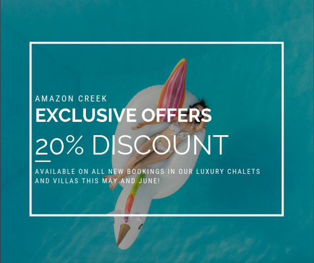 Exclusive Discounts on Luxury Chalets and Villas with Amazon Creek