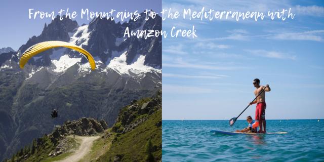 Mountains to the Mediterranean