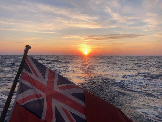 Amazon Creek is Sailing the Atlantic