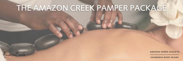 The Amazon Creek Luxury Pamper Package