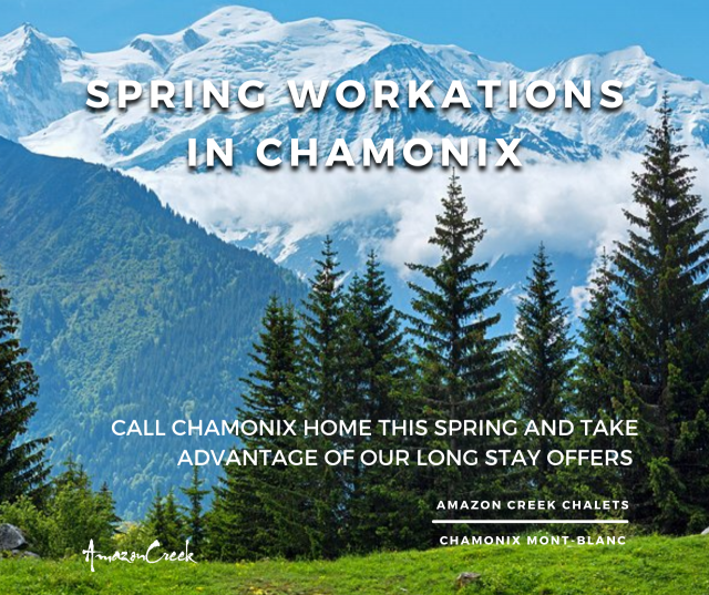 Escape to Chamonix this Spring